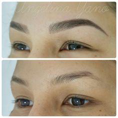 Pmu hairstroke eyebrows