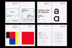 Identity + Type | Layout, image curation, editorial by Strelka Institute