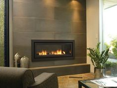Image result for fireplace cool rustic modern