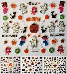 !!! KOSTENLOSER VERSAND !!! Nagelsticker Halloween http://ebay.eu/2cOF0fK