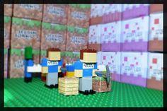 3 Lego Minecraft Ste