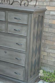 painted furniture masculine dresser makeover, painted furniture