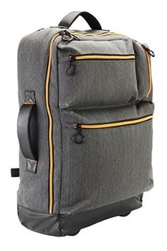 fe6bb01bc1e5 Cabin Max Oxford 55x40x20cm Carry On luggage - Multi-function backpack and  trolley (Grey): Amazon.co.uk: Luggage