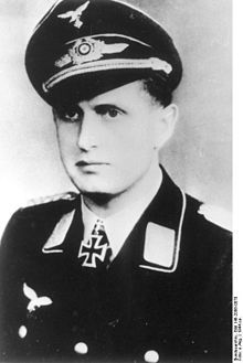 Major Herbert Karl ABRATIS (21 March 1918 – 29 March 1945) killed south of Stettin. Knight's Cross of the Iron Cross on 24 October 1944 as Hauptmann and commander of the II./Fallschirmjäger-Regiment 1