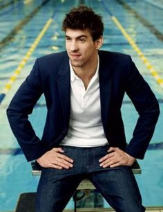 Michael Phelps - Owner of 22 Olympic Medals, Swimmer