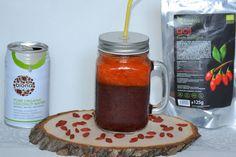 Savoare in bucate: Smoothie revigorant (cu fructe de goji și apă de c...