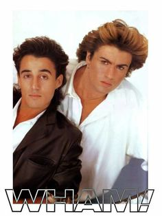 Wham! George Michael RIP Christmas Day 2016 53 years old Cherished this hunk during my childhood! RA