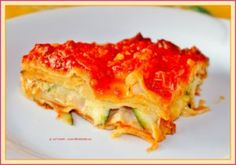 Traditionele lasagne met extra courgette - il Tramonto