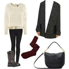 """""""Winterruption"""" by qkate on Polyvore---- from when I volunteered at the Winterruption event"""