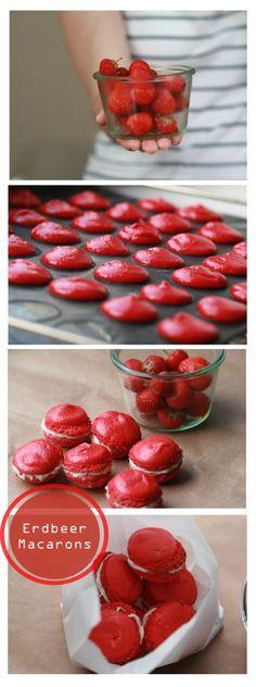 erdbeer_macarons