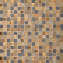 COLISEUM BLEND (MULTI-COLOR SLATE WITH BRONZE GLASS) OS01