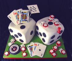 Las #Vegas #Dice #Cake - For all your cake decorating supplies, please visit craftcompany.co.uk