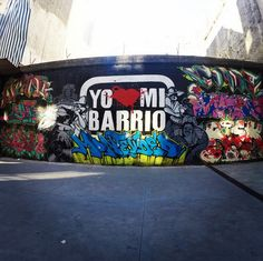 The amazing graffiti filled walls in Montevideo!