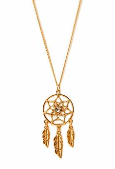 racing_girl4life13's save of Dreamcatcher Pendant Necklace on Wanelo