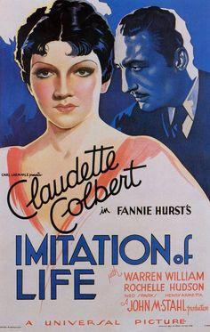 Imitation of Life (1934) starring Claudette Colbert & Warren William