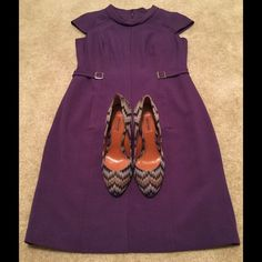 """✨NIB Missoni Purple """"Zig Zag"""" Pumps✨ The size is 39, but I'm a true 8.5 and these fit more like an 7.5/8.  Heel 4"""" and platform .25"""".  Original box, dust bag and packing. Missoni Shoes Heels"""
