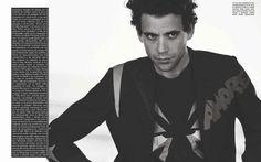 Mika por Peter Lindbergh para L'Uomo Vogue Julio 2015