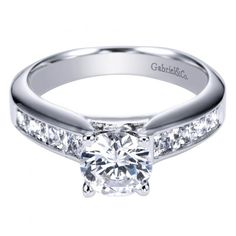 FAVORITE ONE YET  1.75cttw Princess Cut Channel Set Diamond Engagement Ring anillos de compromiso | alianzas de boda | anillos de compromiso baratos http://amzn.to/297uk4t
