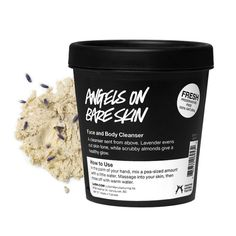 Lush Cosmetics Angels on Bare Skin Face and Body Cleanser