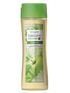 Shampoo para Cabello Normal con Manzana y Flor de Saúco Nature Secrets | Oriflame Centro América