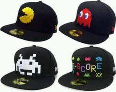 Pac Man hats... cool