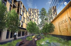 Bustler: Winners of the Timber in the City: Urban Habitats Competition
