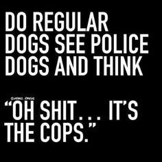 @rebelcircus #rebelcircus #meme #bitchyquotes #funny #bitchy #funnyquotes #sarcasm #police #cops #k9