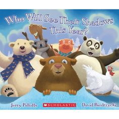 Who Will See Their Shadows This Year? new book for Groundhog Day by Jerry Pallotta