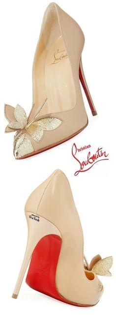❇Téa Tosh❇ Louboutin, Maripopump Butterfly