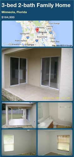 3-bed 2-bath Family Home in Minneola, Florida ►$164,900 #PropertyForSale #RealEstate #Florida http://florida-magic.com/properties/79957-family-home-for-sale-in-minneola-florida-with-3-bedroom-2-bathroom