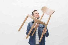 """Sebastian Herkner hat für Thonet den """"Frankfurter Stuhl"""" neu interpretiert. Das neue Stuhlprogramm 118 besteht aus einem Stück gebogenem Sitzrahmen und der mit Rohrgeflecht bespannten Sitzfläche. Herkner hat hier intensiv an den Details gearbeitet und zum Beispiel die Form der Stuhlbeine auf die hufeisenförmige Sitzfläche abgestimmt. © Philipp Thonet Platform, Trends, Design, Pipes, Heel, Wedge, Heels, Beauty Trends"""