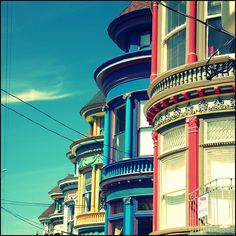 *Victorians in SF (known as the painted lady's)