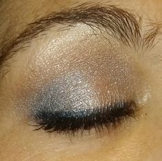 Mary Kay products used. The colors are beach blonde cream to powder base, granite, peacock blue,polished stone, and black eyeliner with denim frost eyeshadow over eyeliner. If you want to customize your makeup pallet vist my website at www.marykay.com\cbernardo if you mention you seen this on pintrest you will get your entire order 15 percent off