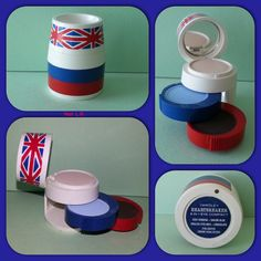 Rare vintage Union Jack Yardley Heartbreaker 3 in 1 Eye Compact. This is from my personal collection.