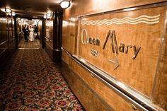 The Queen Mary in Long Beach, CA. Long Beach Queen Mary, Long Beach Hotel, Queen Mary Ship, Ss Normandie, Hotels For Kids, Cruises, Gatsby, Portal, Wedding Planning