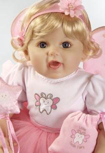19 inch Realistic & Lifelike Baby Doll, Tall Dreams Ensemble, Ages 3+