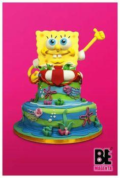 Spongebob Cake Art