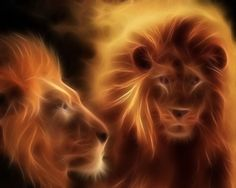 A  nice piece of art highlighting these beautiful animals...