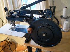 My Luberto leather stitcher. #sewing_machine #leather_stitcher