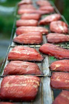 Ginger, Soy, Brown Sugar Brine for Smoking Salmon                              …