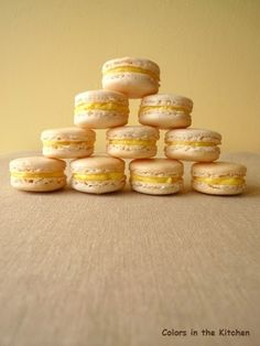Macaroons, Place Card Holders, Sweet, Colors, Kitchen, Candy, Macaroni, Cooking, Macarons