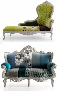 Light Vintage Collection Of Armchairs By Moda