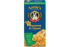 The Packaged Foods Dietitians Pick // Annie's Homegrown Macaroni and Cheese c Annie's Homegrown