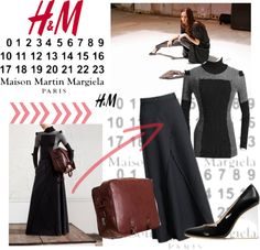 """Maison Martin Margiela with H (4)"" by kekek ❤ liked on Polyvore"