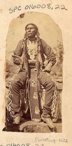 White Horse - Pawnee - 1868