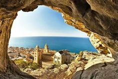 CEFALU, SICILY.....where my Paternal Grandfather was born.