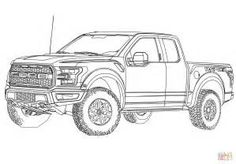 Ford Raptor Truck Coloring Page one of the most popular coloring page in Truck category. Explore more coloring pages like Ford Raptor Truck Coloring Page from the Coloring. Raptor Car, Ford Raptor Truck, Ford Ranger Raptor, Carros Ferrari, Autos Ford, Ford Explorer Sport, Truck Coloring Pages, Old School Cars, Car Design Sketch