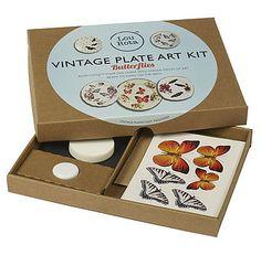 Vintage Plate Art Kit by Lou Rota