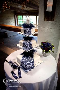 3 layer star cake