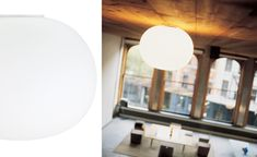 glo ball ceiling lamp for office